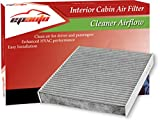 #1: EPAuto CP743 (CF10743) Replacement for Premium Cabin Air Filter, Replacement for Chrysler/Dodge/Infiniti/Nissan/Volkswagen Selected Models