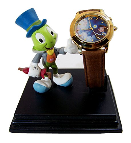Jiminy Cricket Pinocchio Watch Everlasting Time Disney Collection