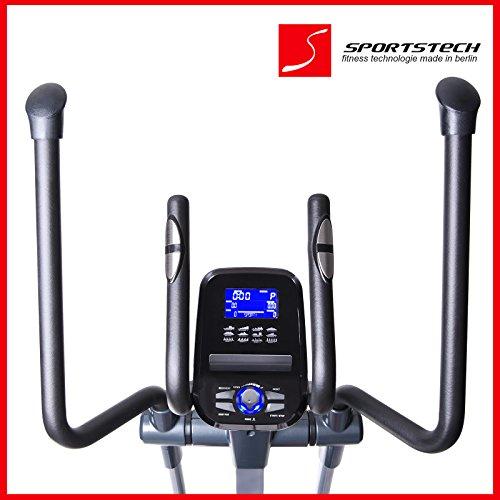 Sportstech CX620 Profi Crosstrainer mit Smartphone App - 5