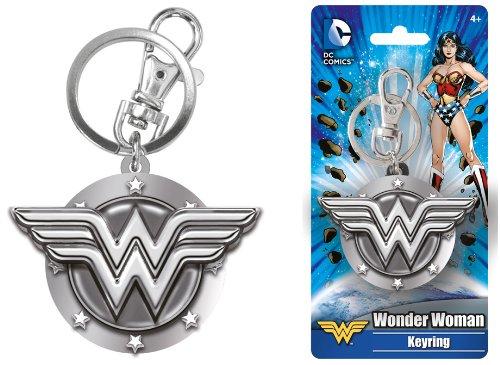 DC Wonder Woman Pewter Key - Miracle Mile Marketplace