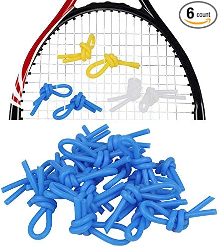 2Pc Tennis Ball Vibration Dampeners Shock Absorber Damper Accessories Yellow