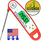 Meat Thermometers, Smart Auto On Off Meat Thermometer Instant Read Candy Thermometer Waterproof