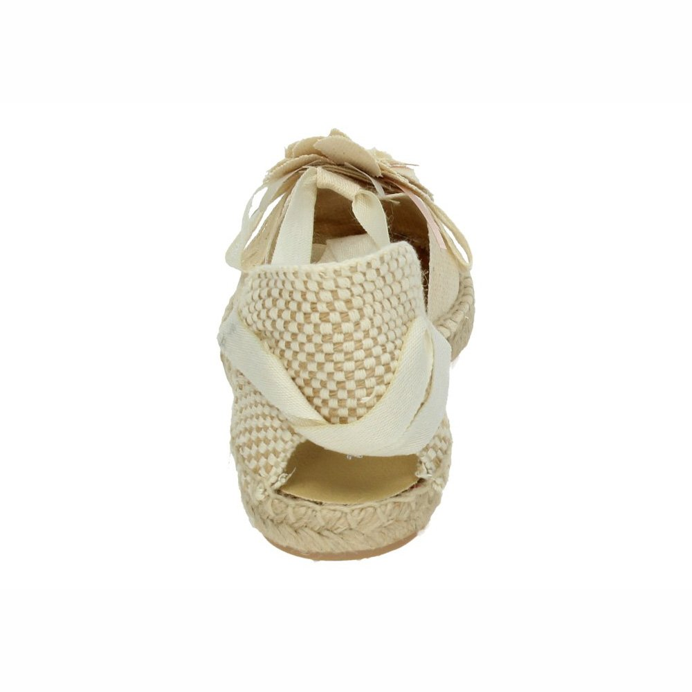 MADE IN SPAIN 1550433 Esparteña Blanca Niña Zapato Comunión Blanco 33: Amazon.es: Zapatos y complementos