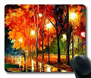 Custom Made Oblong-Shaped Mouse Pad With The Classic Background On Sale By WZY