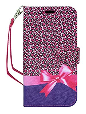 ZTE ZMAX 2 Case, Customerfirst - ZTE ZMAX 2 Dual-Use Flip PU Leather Fold Wallet Pouch Case Cover for ZTE ZMAX 2 - Includes Key Chain from Customerfirst