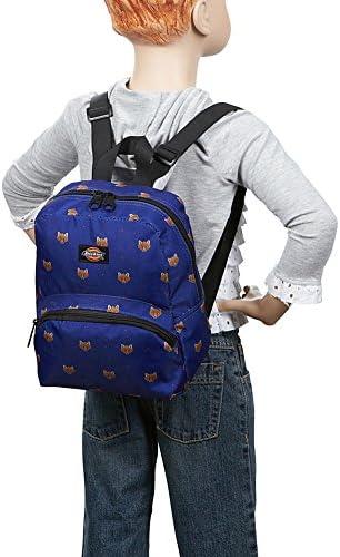 Dickies Mini Mini Festival Backpack (Clear PVC with Rainbow) 6