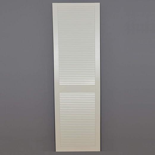 Lamellentur B X H 594 X 717 Mm Art Lamellen Geschlossen Weiss Bauhaus