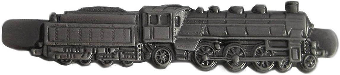 Tren de alfiler de locomotora con alfiler de corbata bajapara gris ...