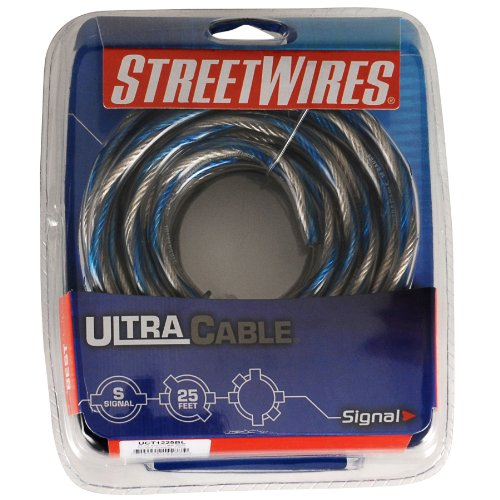Streetwires UCT1225BL 12 Ga Speaker Home/Car Wire 25 Ft by Streetwires