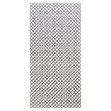 mDesign Sink Protector Mat for Kitchen Sinks - Extra Large, 12'' x 25'', Graphite