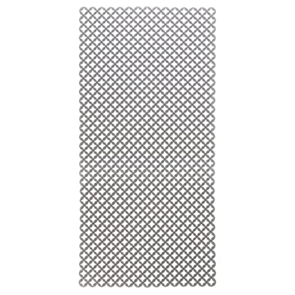 mDesign Sink Protector Mat for Kitchen Sinks - Extra Large, 12 x 25, Graphite 12 x 25 MetroDecor 7189MDK
