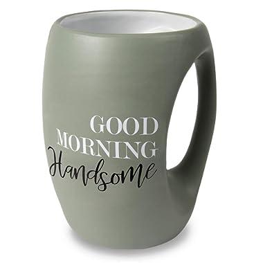 Pavilion Gift Company 10509 Good Morning Gorgeous 16 oz Mug, Green