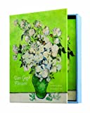 Boston International The MET Boxed Note Cards, Van Gogh Flowers, 24-Count