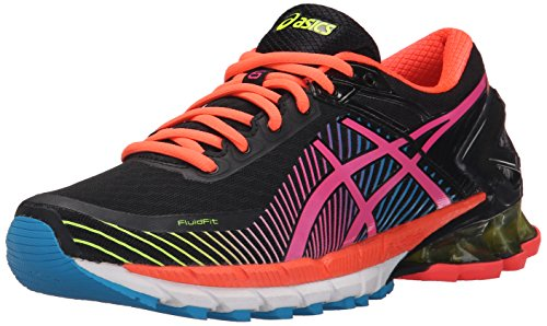 asics-womens-gel-kinsei-6-running-shoe-black-hot-pink-flash-yellow-95-m-us