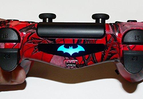 Ps4 Controller Light Bar Decals Stickers Qty 2 Batman Akraham