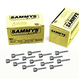 Everflow Sammys 8024957-50 DSTR 100 1/4 Inch Screw Vertical Threaded Rod Anchor Designed for Steel Structure, Steel with Electro-Zinc, Corrosion Resistance, 1/4-20 x 1 Inch Screw Length (pack of 50)