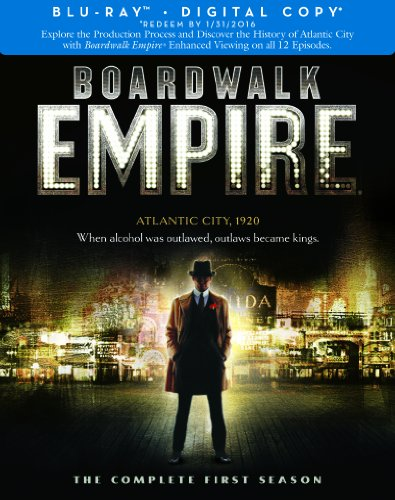 Boardwalk Empire: Complete First Season (BD) [Blu-ray]