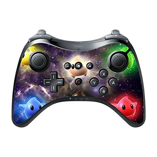 Price comparison product image Cute Galaxy Stars Wii U Pro Controller Vinyl Decal Sticker Skin by Demon Decal