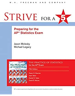 Amazon the practice of statistics 9781464108730 daren s strive for 5 preparing for the ap statistics examination to the practice of statistics fandeluxe Gallery