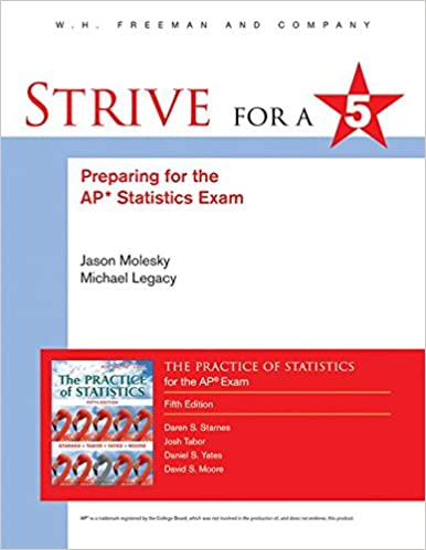Strive For 5 Preparing For The AP Statistics