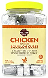 Wellsley Farms Chicken Flavored Bouillon Cubes (Formerly Berkley & Jensen) - 75 Count