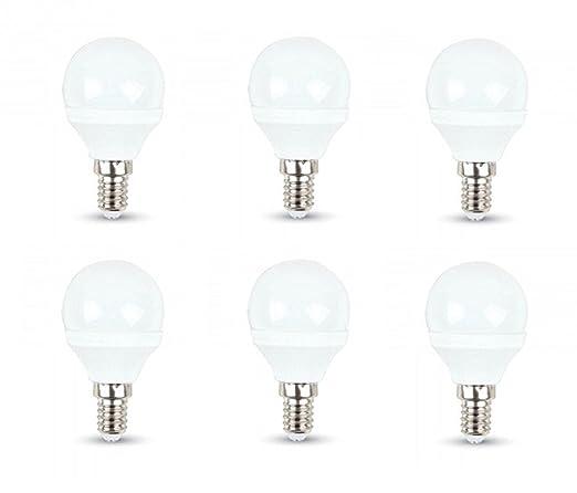 Bombillas LED tipo pelota de golf V-Tac, 3 W, P45, paquete