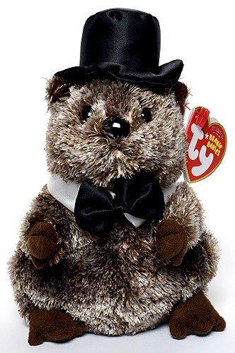 Ty Beanie Babies Punxsutawney Phil 2008 - Groundhog