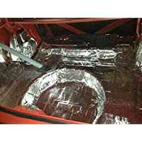 HushMat 682104 Sound and Thermal Insulation Kit (1979-Present Volkswagon Jetta - Trunk)