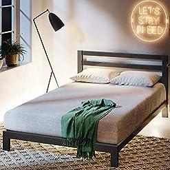 Zinus Platform Bed With Headboard