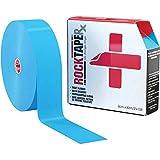 Rocktape RX Sensitive-Skin 2-Inch Kinesiology Tape, 105-Foot Bulk Roll, Blue