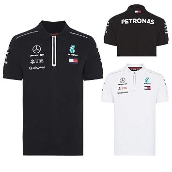 2017 Mercedes-AMG F1 Lewis Hamilton Ladies Team Polo Shirt for Womens /& Girls