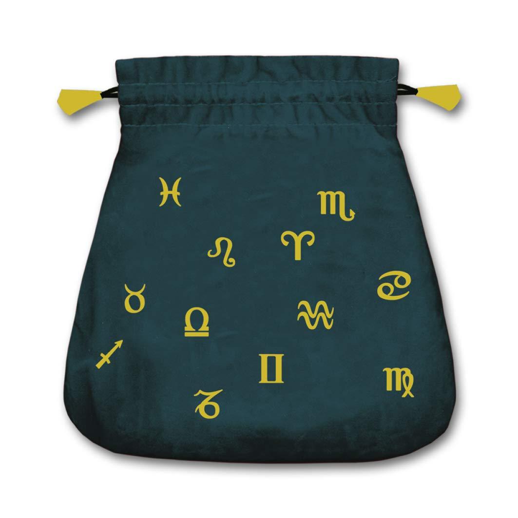 Astrological Velvet Tarot Bag: Lo Scarabeo: 9780738720753 ...