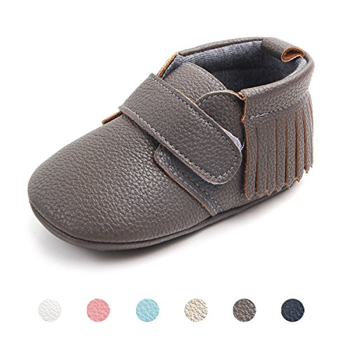 Baby Soft Leather Pram Shoes - 7