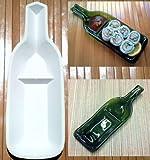 Stoneware Snack or Sushi Wine Bottle Slumping Mold