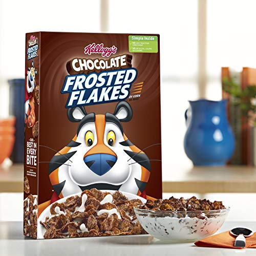 Kellogg's Chocolate Chocolate Frosted Flakes, 13.7 Ounce (Pack of 16) by Kellogg's (Image #3)