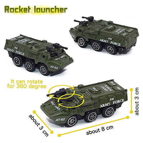 The 8 best diecast military vehicles set