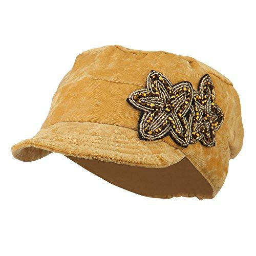 Beaded Velvet Hat - 8