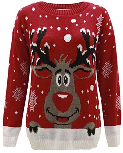 Home ware outlet - Jerséi - para mujer Red Reindeer