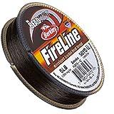 """Fireline Braided Beading Thread Smoke 6LB 50yd 0.006"""""""