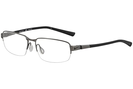 f0dc18fae3a Image Unavailable. Image not available for. Color  NIKE Eyeglasses 6051 066  Brushed Dark Gunmetal 54MM