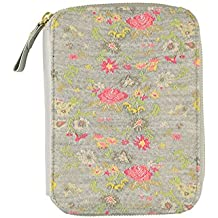 Hobonichi Techo Planner - Antipast: Flower Rug (Gray) Set (English/A6/Jan 2018 Start)