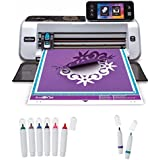 Brother ScanNCut2 Home & Hobby Cutting Machine with Erasable Pen & Color Pen Set