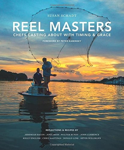 Book Cover: Reel Masters: Chefs Casting about with Timing and Grace