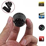 Spy Hidden Camera, Heymoko Round 1080P Full HD 6 LED Infrared Night Vision ...