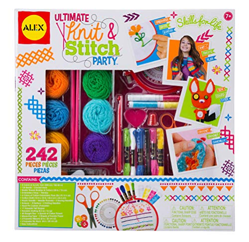 - Alex DIY Ultimate Knit and Stitch Party Kit