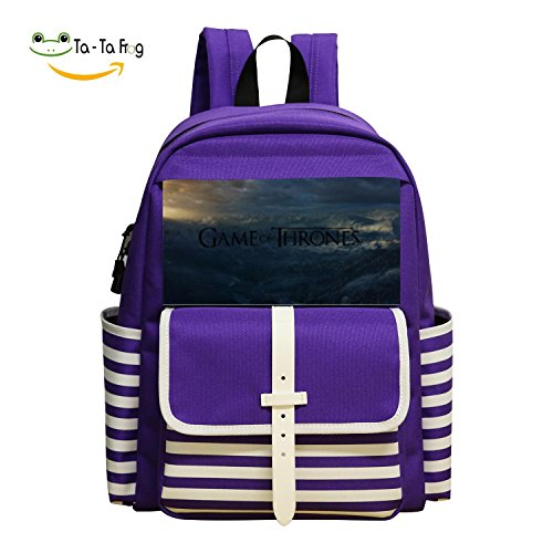 Cool Game of Thrones Rucksack Trend School Shoulder Backpak Book Bag Daypack
