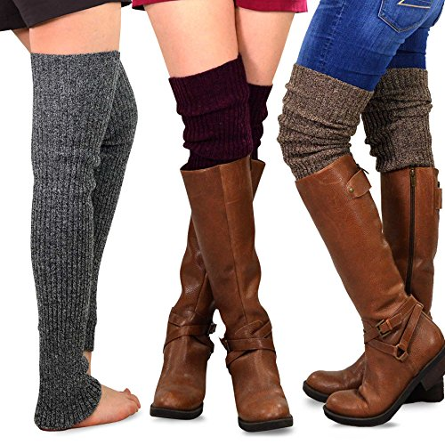 TeeHee Womens Fashion Warmers 3 Pack product image