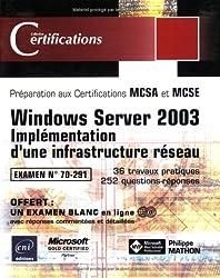 Windows Server 2003 - Implémentation d'une infrastructure réseau - examen 70-291