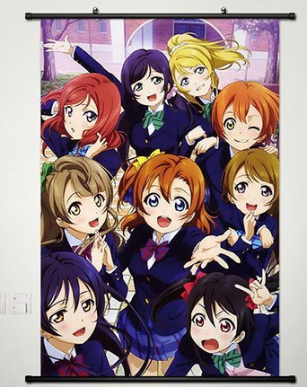 Home Decor Anime Love Live! School Idol Project Wall Scroll