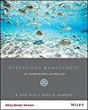 img - for Operations Management 6e Binder Ready Version + WileyPLUS Learning Space Registration Card book / textbook / text book